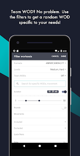 Crossfit wod roulette apps on google play screenshot image malvernweather Choice Image