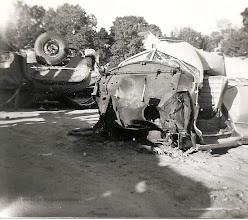 Photo: Cars after the flood. Photo courtesy of Edward Adams Jr.