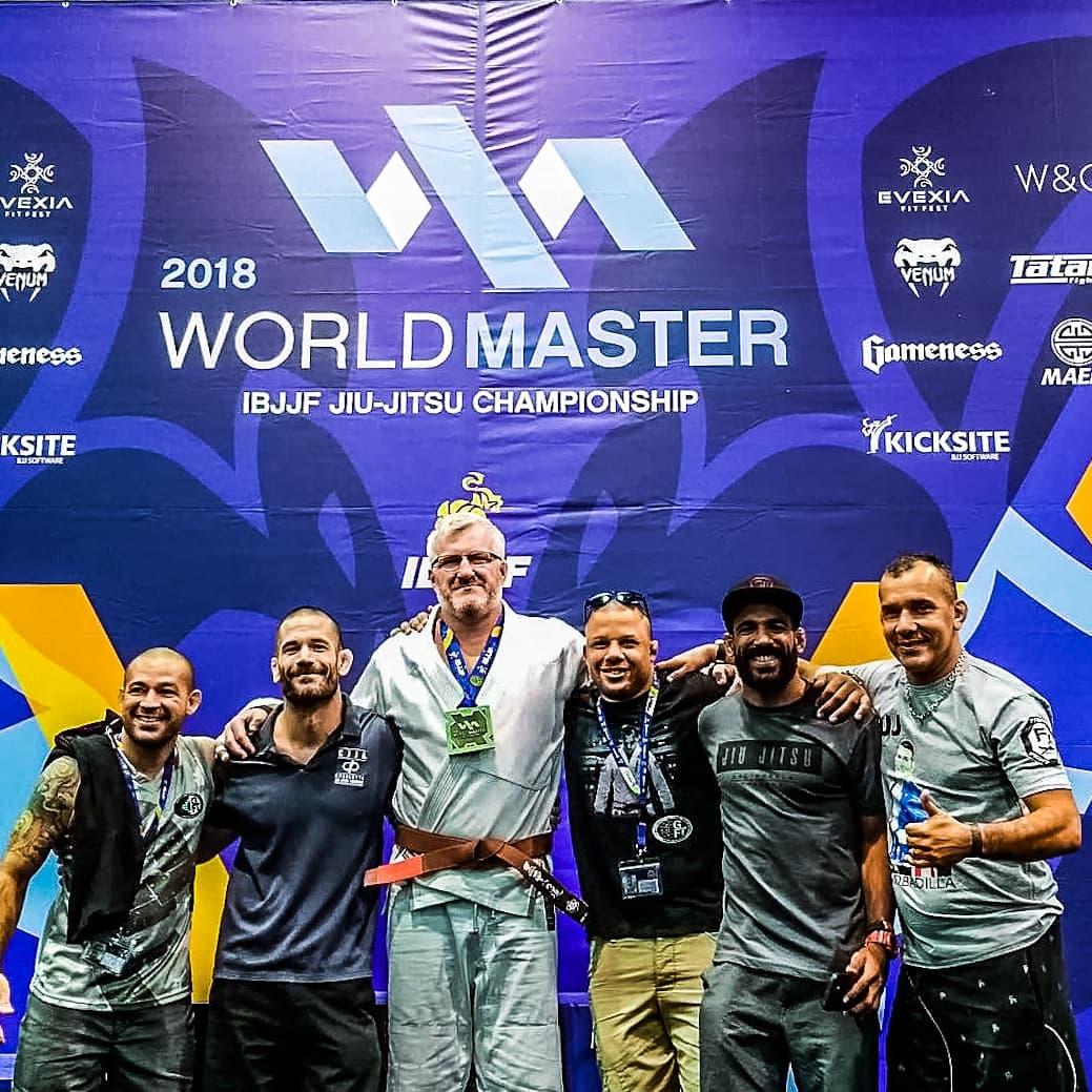 Jimbo Gets Gold IBJJF Masters Worlds 2018. Charlotte Jiu-Jitsu Academy, GFT, Mau Mau, Arte Suave Jiu Jitsu, BJJ, Brazilian Jiu-Jitsu, Brown Belt
