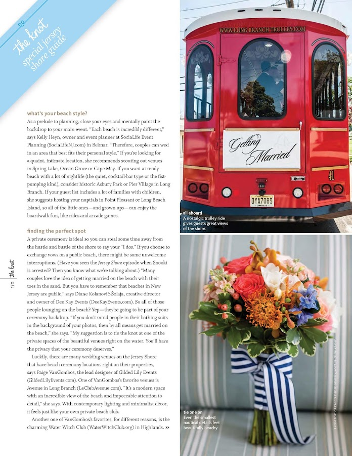 The Knot New Jersey Weddings Magazine- screenshot
