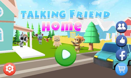 Talking Friend Home apkmartins screenshots 1