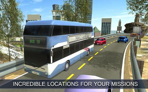 Télécharger Gratuit Bus Simulator Commercial 16  APK MOD (Astuce) screenshots 1