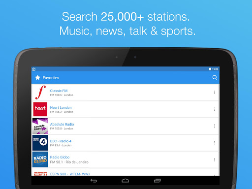 Simple Radio - Free Live FM AM  screenshots 8