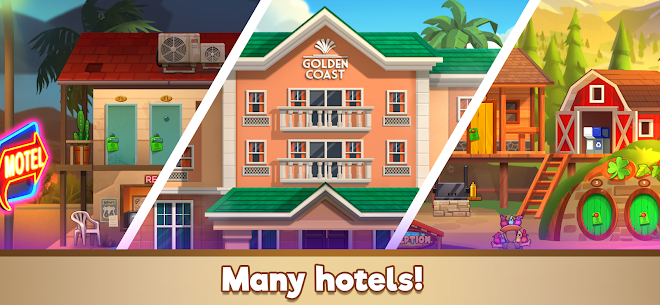 Doorman Story: Hotel team Tycoon Mod Apk (Unlimited Gold + Diamonds) 5