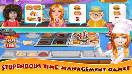Hot Dog Cooking Food Stand 1.0 screenshots 2