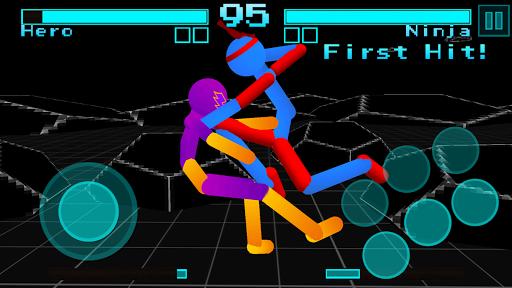 Stickman Fighting: Neon Warriors 1.05 screenshots 12