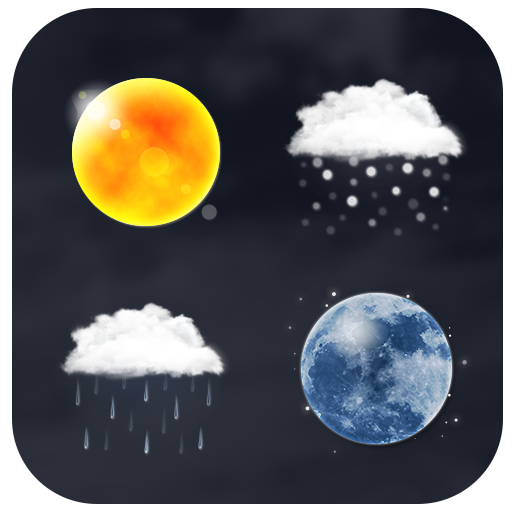 Realistic Weather Iconset HD
