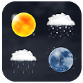 Realistic Weather Iconset HD download