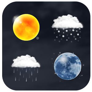 Realistic Weather Iconset HD for PC