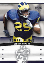 Photo: Ernest Shazor 2005 Upper Deck Rookie Debut RC