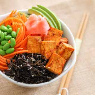 The Ultimate Spicy Tofu Sushi Bowl