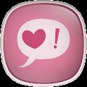 Minimal Pink Live Wallpaper icon