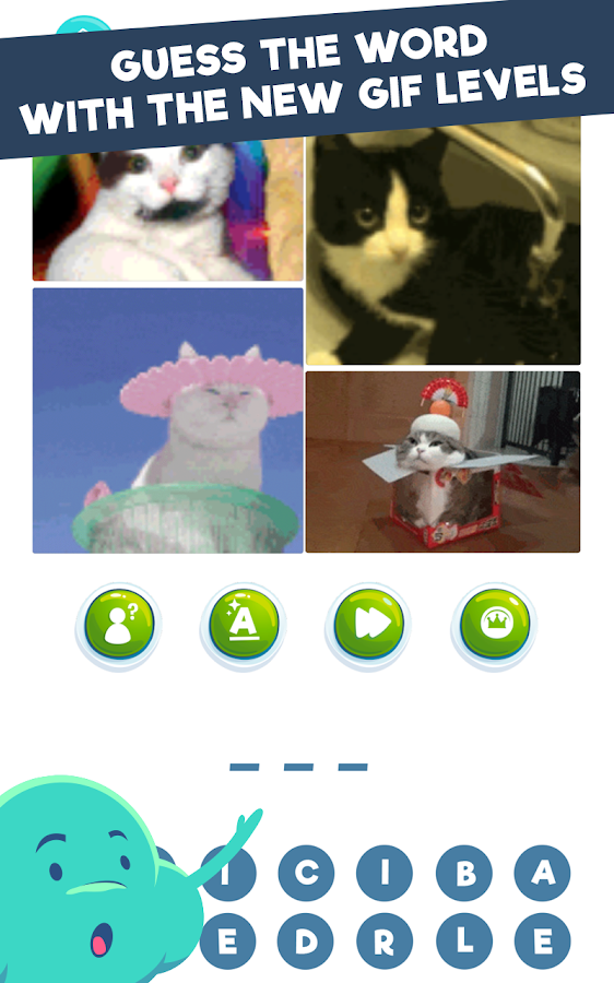 Screenshots of Wordie: Guess the Word for iPhone