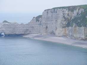 Photo: Etretat attracted a number of painters, including Boudin, Courbet, and Monet.
