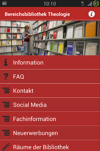 Bereichsbibliothek Theologie