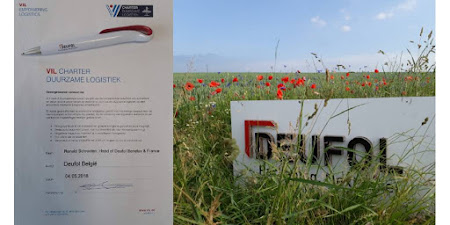 """Deufol signs the """"VIL Sustainable Logistics Charter""""!"""