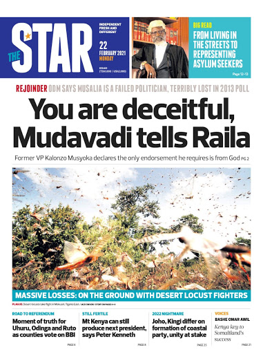 Here is your summary of stories making headlines in the Star.