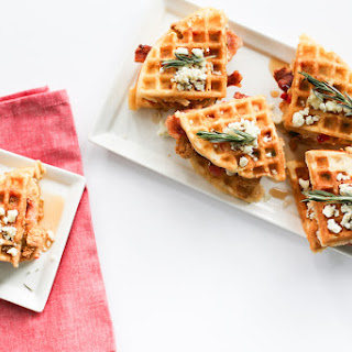 Savory Chicken and Waffle Sliders.