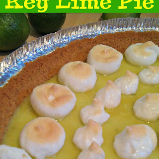 4 Ingredient Key Lime Pie Recipe!