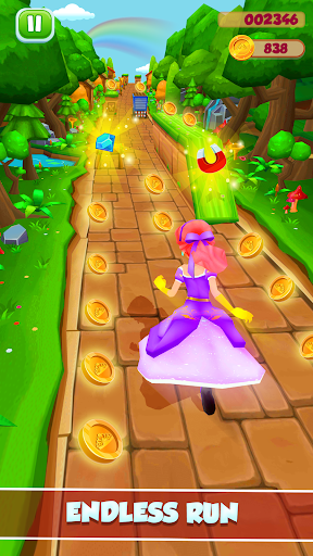 Princess Running Games screenshot 5