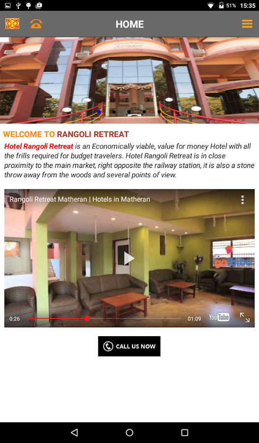 Rangoli Retreat- screenshot