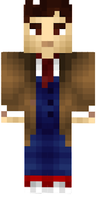 The 10th Doctor, Doctor Who with small fixes to the originall skin.