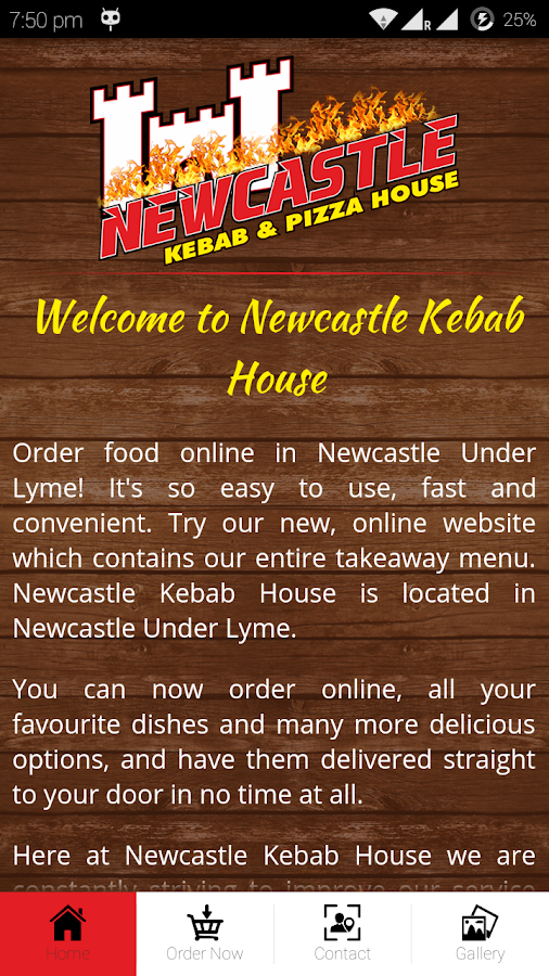 Newcastle Kebab House- screenshot
