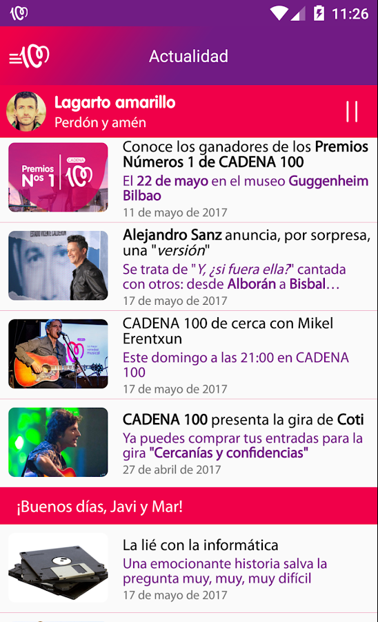 CADENA 100- screenshot