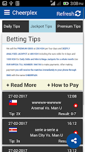 Betting Tips - Cheerplex- screenshot thumbnail