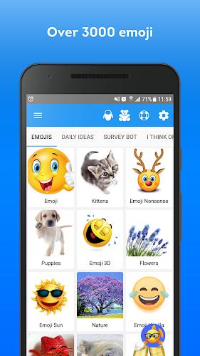 Elite Emoji Android App Screenshot