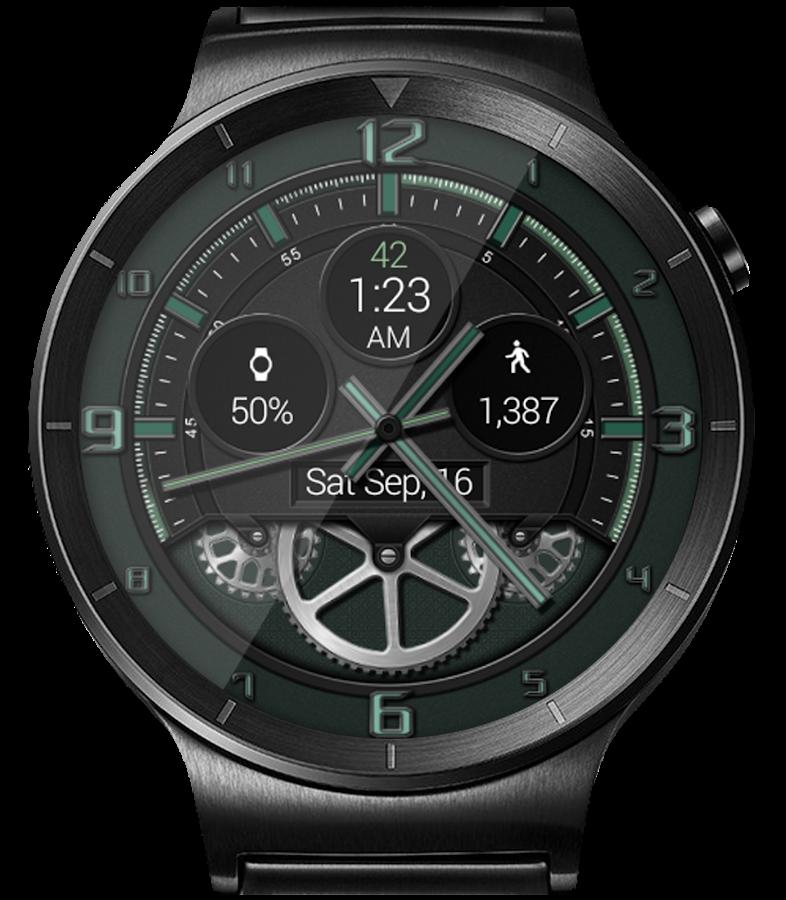 Bold Gears HD Watch Face & Clock Widget