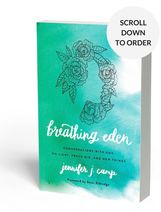 Breathing Eden book cover