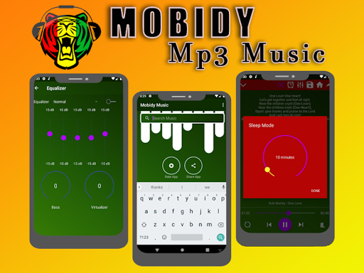 Mobidy Mp3 Music 1.0 screenshots 1