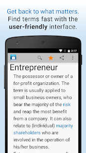 Business Dictionary by Farlex- screenshot thumbnail