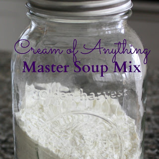 DIY Homemade Cream of Anything Soup