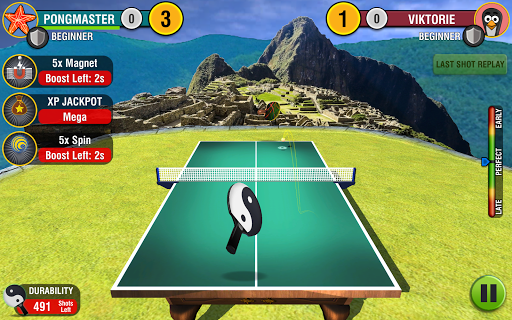 World Table Tennis Champs - screenshot