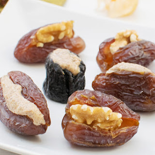 Stuffed Dates & Prunes [vegan] [gluten free].