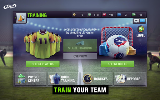 Top Eleven Be a Soccer Manager for PC