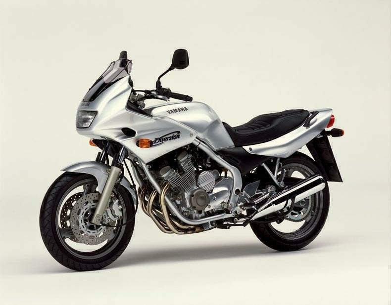 Yamaha XJ 600 Diversion-manual-taller-despiece-mecanica