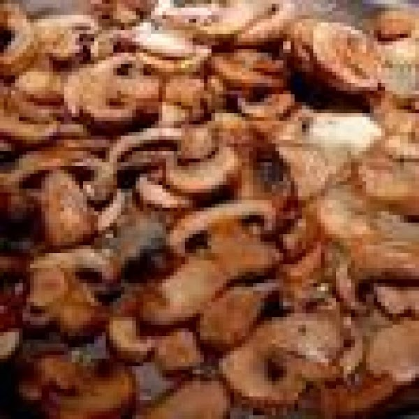 In a skillet sautee onions and sliced mushrooms in a small drizzle of olive...
