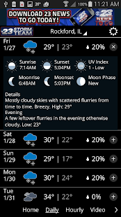 WIFR Weather- screenshot thumbnail