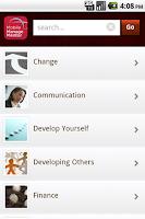 Screenshot of Mobile ManageMentor-Enterprise