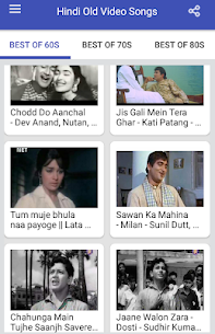 Hindi Old Songs Video App Download For Android 6