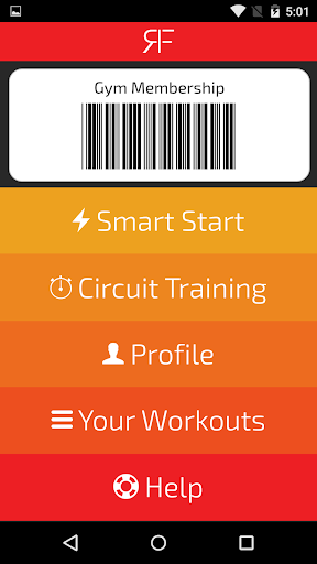 RedFit - THE Fitness Companion