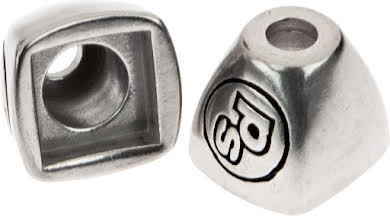 Problem Solvers Downtube Shifter Boss Covers Silver alternate image 1