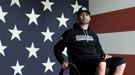 How Oscar Mike helps keep injured veterans on the move