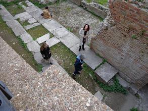 Photo: Family visit to Taormina's Roman Odeon theatre