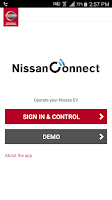Screenshot of Nissan Canada LEAF