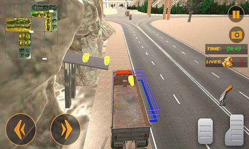 Modern Offroad Mining Truck 3D