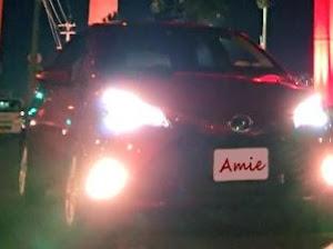 """ヴィッツ NHP130 HYBRID F 特別仕様車 """"Amie(アミー)""""のカスタム事例画像 Nれもんさんの2018年12月26日20:25の投稿"""